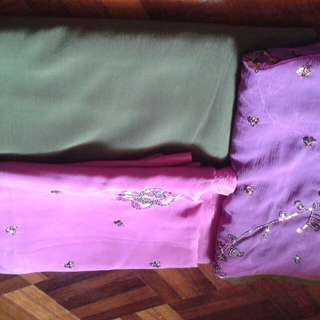 Unsewn Material 3 Tone (Clearance Price)