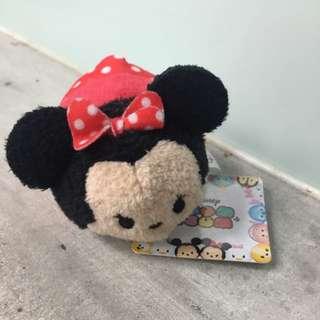 日本 東京迪士尼 TSUMTSUM 米妮 全新正品 日本代購 現貨*1 想要其他的話也可以私訊唷朵拉11月去日本代購^^