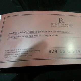 Rm50 Cash Voucher X 2 Units