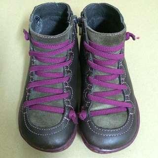 CAMPER FOR KIDS KID 兒童 小孩 鞋 紫色 短靴