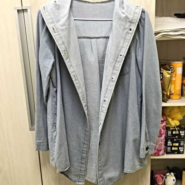 (二手)水洗牛仔襯衫