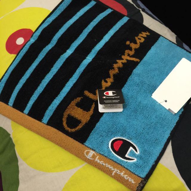 🇯🇵現貨不用等 日本線 Champion🇯🇵小方巾100%純棉 日本直送