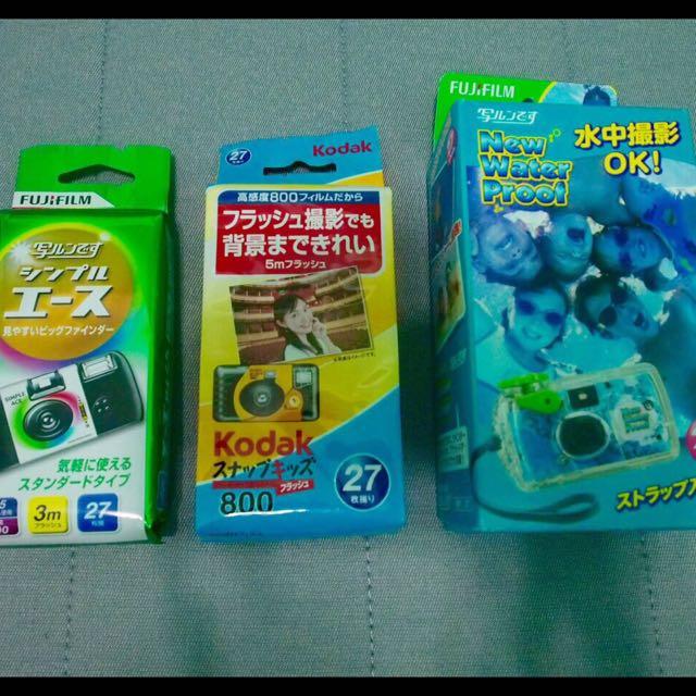 各種底片即可拍   Fuji、Kodak、水中fuji 即可拍