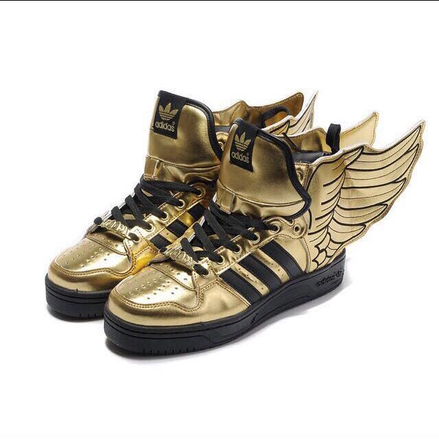 Authentic Adidas Golden Wings Shoes