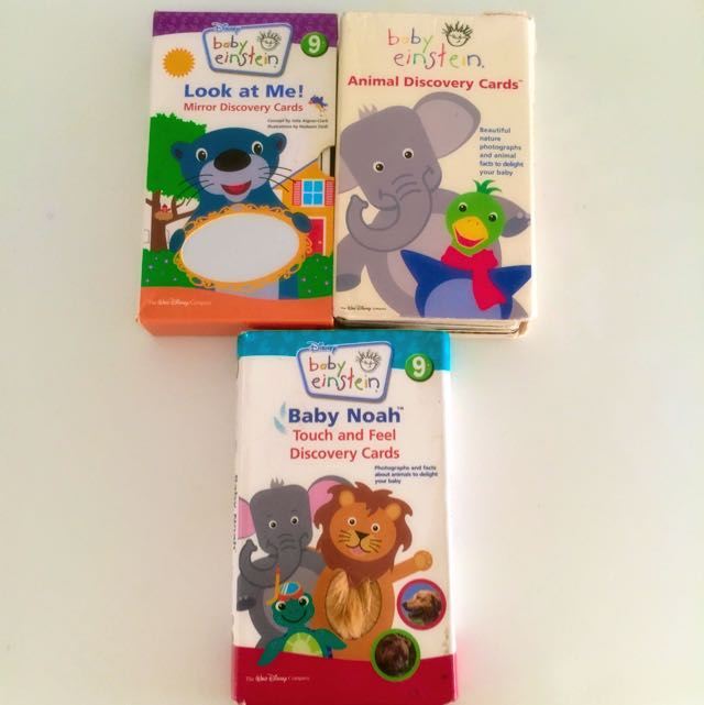 Baby einstein flash cards babies kids on carousell