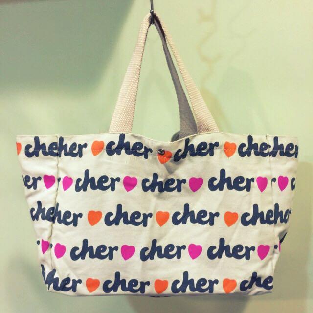 日本Cher雜誌款托特包