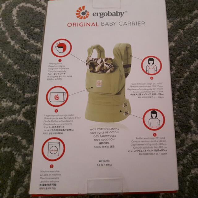 Ergobaby,ORIGINAL BABY CARRIER