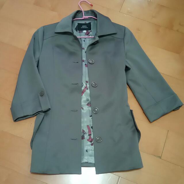 Ginkoo專櫃風衣外套