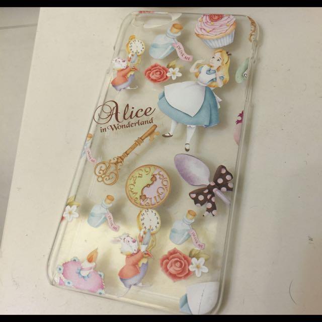 I6+愛麗絲手機殼 硬殼