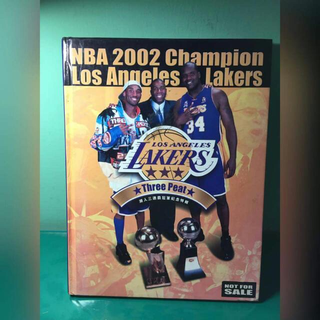 Lakers Kobe 湖人王朝 紀念書刊(中文絕版)