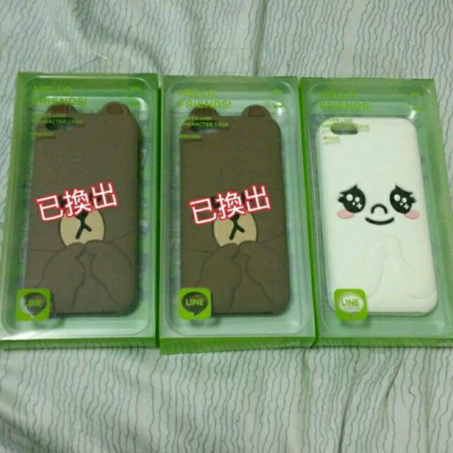 Line Iphone5 手機殼 饅頭人