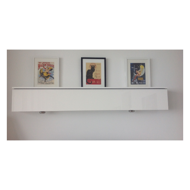 Wall shelf ikea besta burs furniture on carousell for Porta tablet ikea