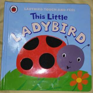 Ladybird Touch And Feel  Book (Brand New)