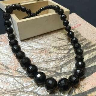 亮面 黑珍珠項鍊