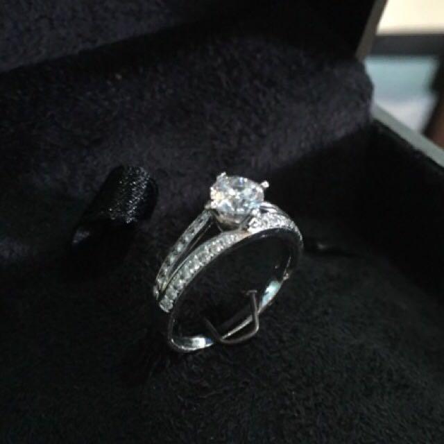 cbd52d1a15278 0.523 Carat Destinee Diamond Ring Lee Hwa, Luxury on Carousell