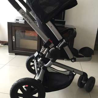 Quinny Buzz - Rocking Black (Baby Stroller)