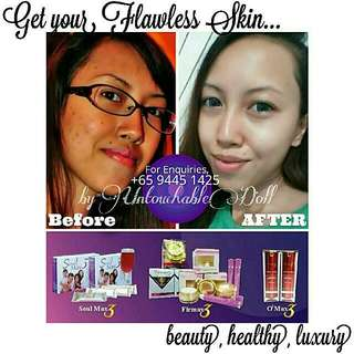 Hey Clear Smooth Skin With Firmax3!!!