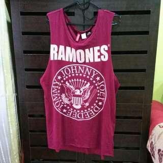 HnM Maroon Ramones Singlet