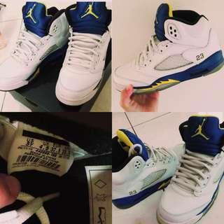 Air Jordan 5 藍尼