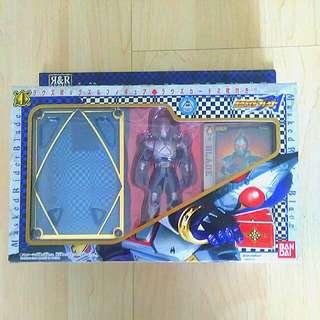 Kamen Rider Blade Figurine With Card And Figurine Holder
