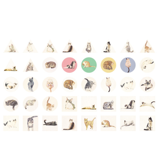Cat Series Seal stickers