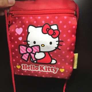 正版三麗鷗Kitty 萬用袋