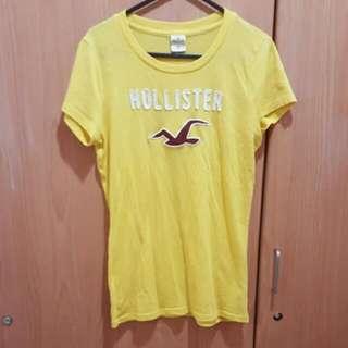 Hollister 黃色上衣