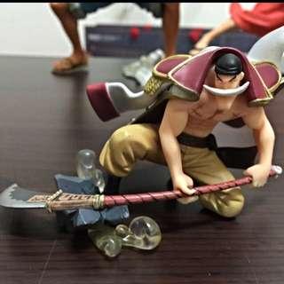 海賊王公仔 白鬍子
