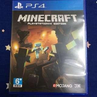 全新 ▪️ PS4遊戲片 Minecraft 當個創世神 中文版