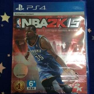 全新 ▪️ PS4遊戲片 NBA 2K15 中文版