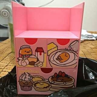 7-11 蛋黃哥 三層抽屜造型收納盒