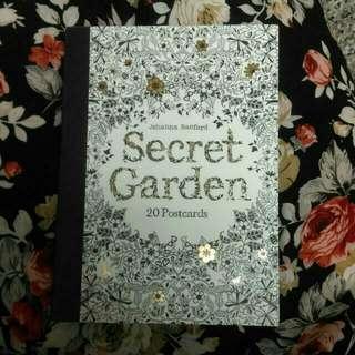 『降價』秘密花園明信片組