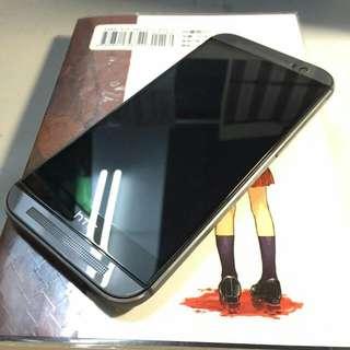 【待交易】HTC M8(鐵灰色) 贈32g記憶卡原場洞洞套+硬殼 可貼換M9