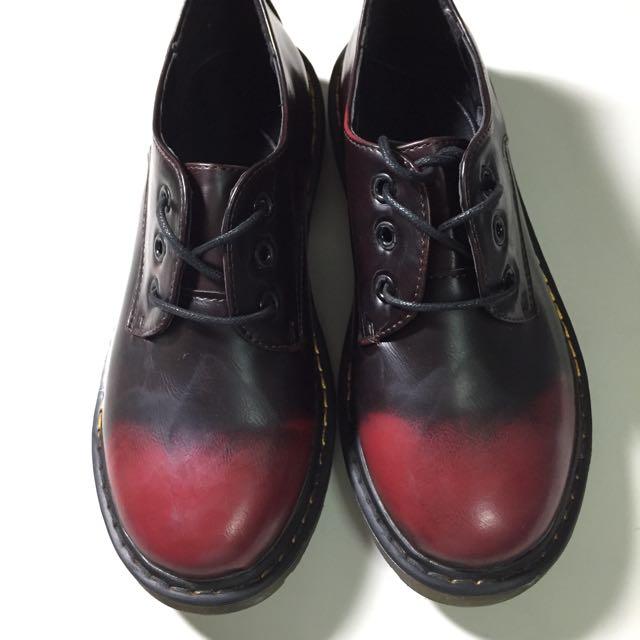 🎉特價✨全新復古圓頭牛津鞋