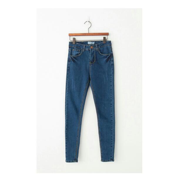 韓版顯瘦牛仔褲