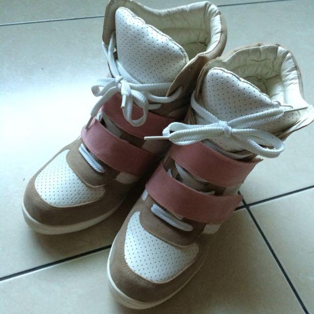 韓版內增高鞋