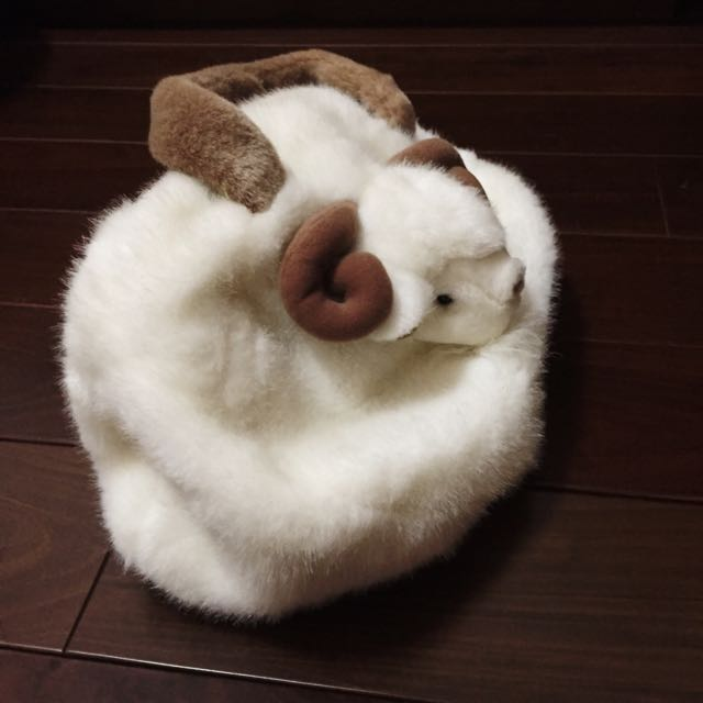 小羊毛手提包💕