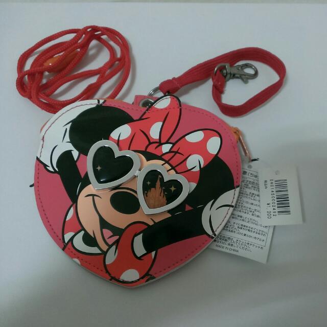【東京迪士尼】米妮 零錢包