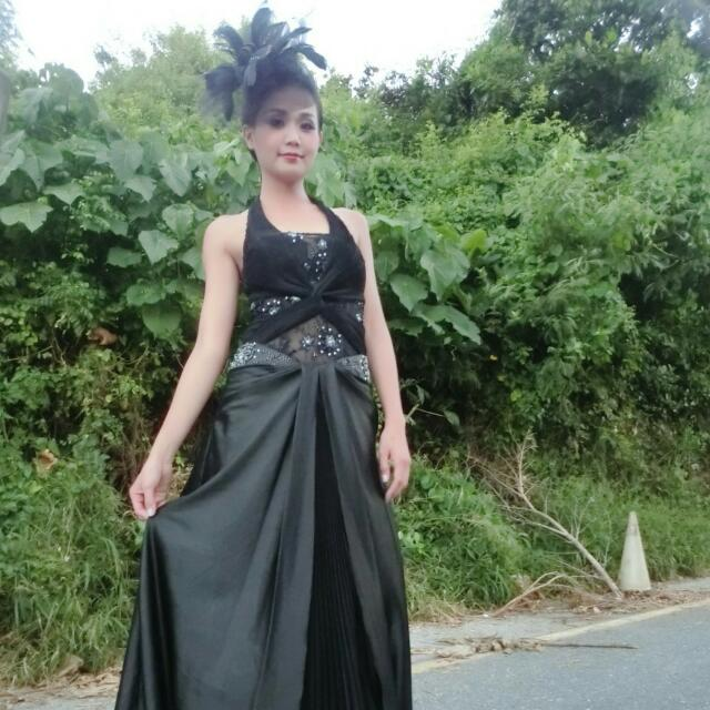 黑色髮飾 禮服 婚紗