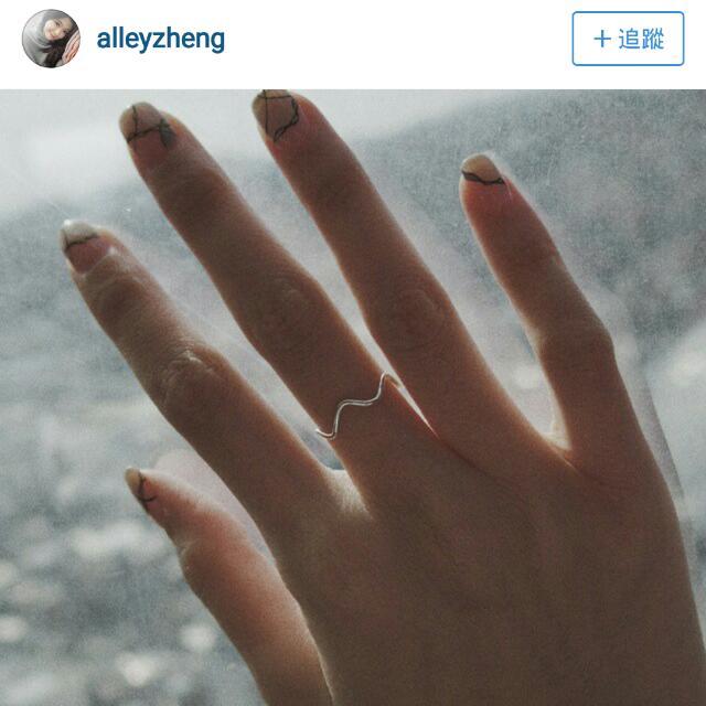 全新//#alleyzheng純銀戒指