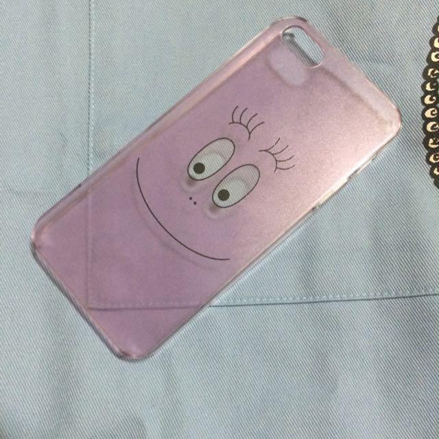 【全新】Barbapapa 泡泡先生 透明 硬殼 iphone5/5s
