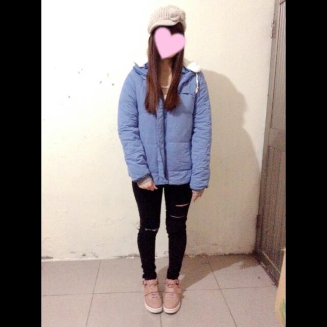 Dian's   日系輕量保暖風衣外套(待匯款)