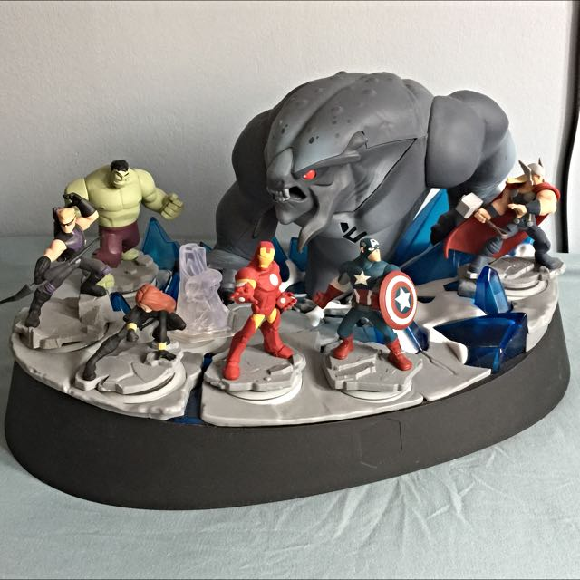 disney infinity 2.0 marvel special edition frost beast light up