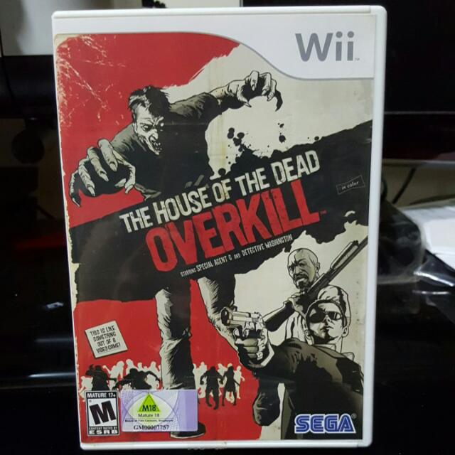 House Of The Dead Overkill For Nintendo Wii Toys Games On Carousell