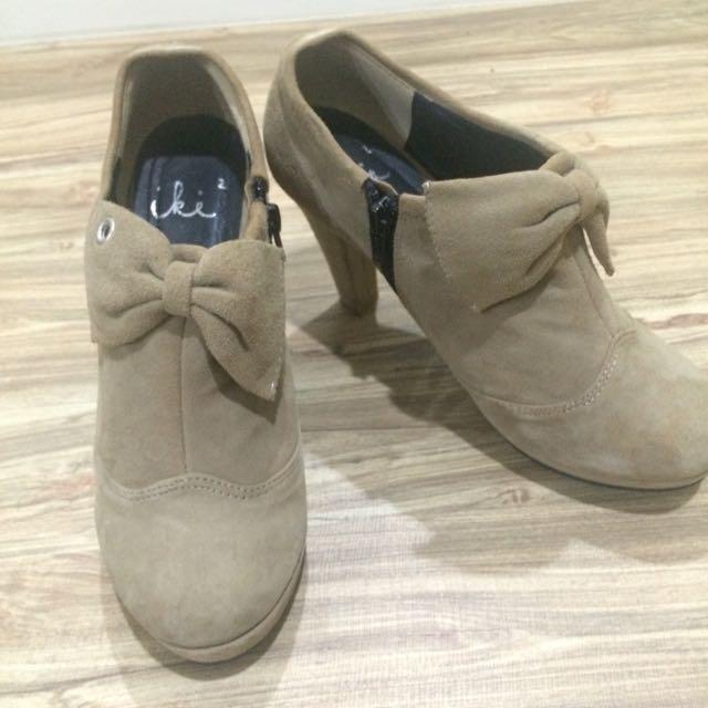 iki2 麂皮短靴