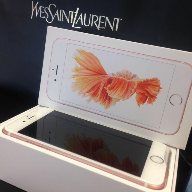 iPhone 6s 64G玫瑰金 現貨ㄧ台可面交