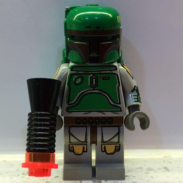 Lego Star Wars Boba Fett Minifigure From 10123 Cloud City Toys
