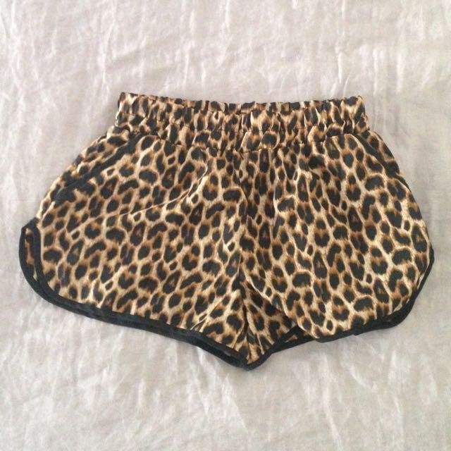 Leopard Dolphin Shorts