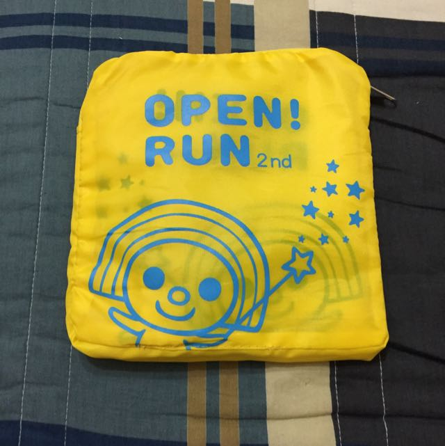 Openrun 2nd 路跑紀念背包 「可收納」