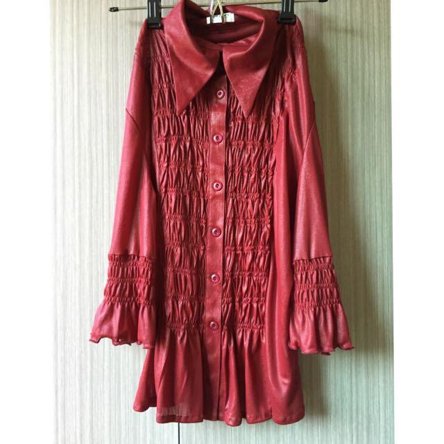 PAZARS經典花袖(全新)$300